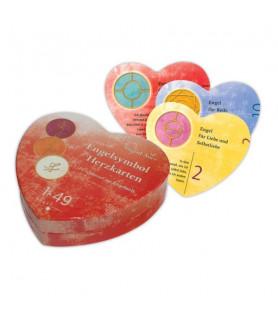 Cards 1 - 49 Angel Symbol Heart Cards Ingrid Auer Engel - 1