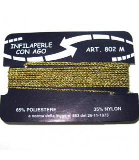 Bead cord Polyamide gold  - 1