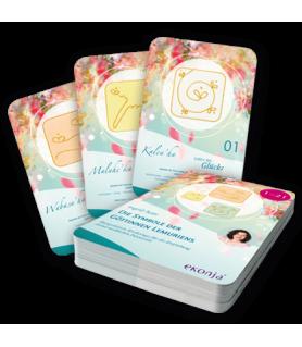 "Energized cards \""The Symbols of the Goddesses of Lemuria\"" Ingrid Auer Engel - 1"