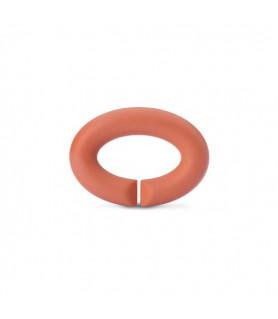 Kautschuk Link, soft apricot X Jewellery - 1