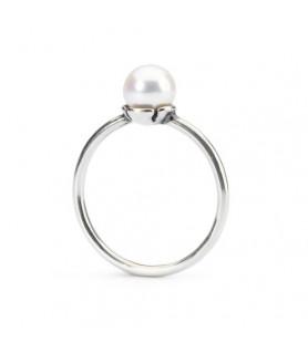 Filigraner Ring mit Weisser Perle Trollbeads - das Original - 1