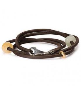 Leder-Armband braun Trollbeads - das Original - 1