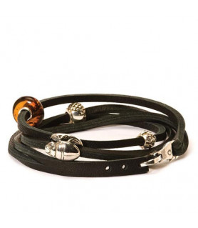 Trollbeads Leather Wristband black Trollbeads - das Original - 1