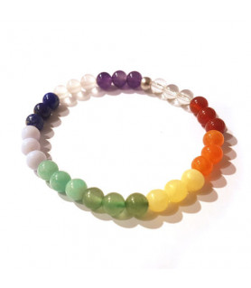 Chakra bracelet 18,5 cm Steindesign - 1