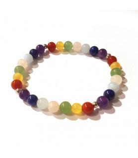 Chakra bracelet 18 cm Steindesign - 1