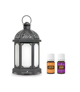 Charcoal Lantern Diffuser Set - Young Living Young Living Essential Oils - 1