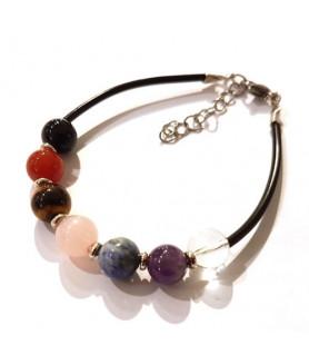 Healing stone bracelet Chakra Steindesign - 1