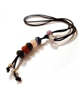 Healing Stone Necklace Chakra Steindesign - 1