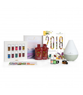 Premium Essential Oils Collection with Young Living Dewdrop Diffuser Young Living Essential Oils - 1