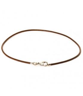 Trollbeads leather necklace dark brown Trollbeads - das Original - 1