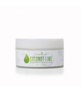 Coconut-Lime Replenishing Body Butter Young Living Essential Oils - 1