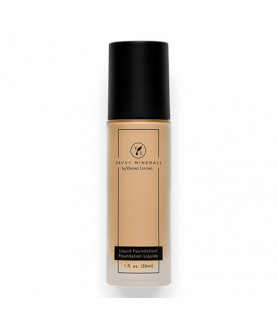 Savvy Minerals Liquid Foundation Young Living Essential Oils - 4