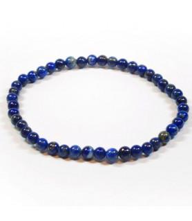 Kugel-Armband Lapis Lazuli 4mm