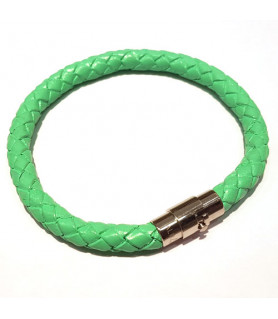 Leder Armband Juno Mint