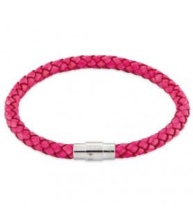 Leder Armband Juno Pink