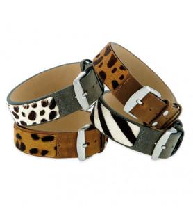 Leder Armband Safari  - 3