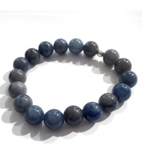 Blauquarz Armband 10mm  - 1