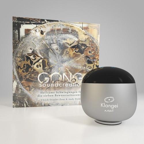Klangei next - GONG soundcreation SET silber Eicher Music - 1