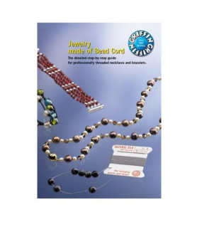 """English knotting instructions\ """"Jewelry made of Bead Cord\"""" Griffin - 1"""
