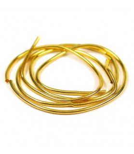 Pearl spiral wire gold 1,0mm Griffin - 1