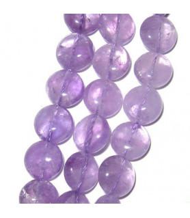 Amethyst Lavendel, rund 10mm  - 1