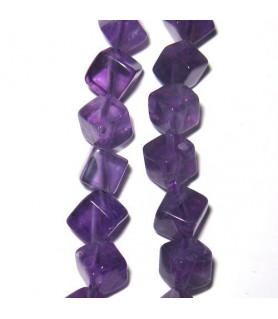 Amethyst cube diagonal  - 1