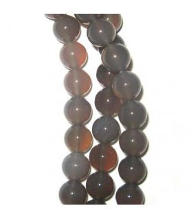 agate grey, ball strand 10mm  - 1