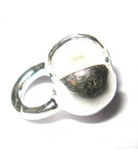 Folding ball 5mm silver  - 1