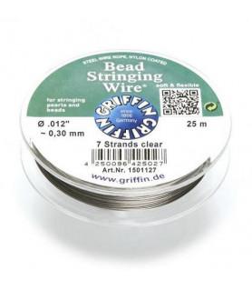 Thread wire clear, 25m Griffin - 1