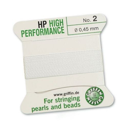 HP bead cord white Griffin - 1