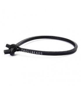 Trollbeads leather strap single, black Trollbeads - das Original - 1