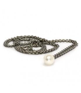 Fantasykette mit Perle - Silber Trollbeads - das Original - 1