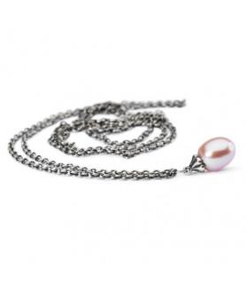Fantasy Halskette mit rosa Perle Trollbeads - das Original - 1