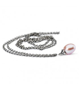 Trollbeads - Fantasy necklace with pink pearl Trollbeads - das Original - 1