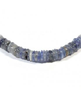 Gemstone chain Iolite (Cordierite) Steindesign - 2