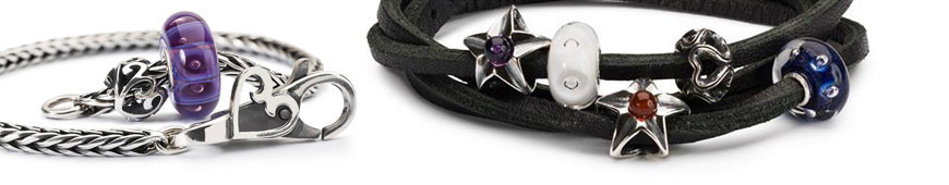 Trollbeads necklaces and bracelets