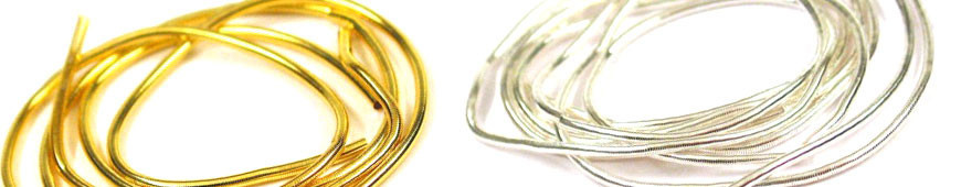 Halbfabrikate und Zubehör - Perlspiraldraht
