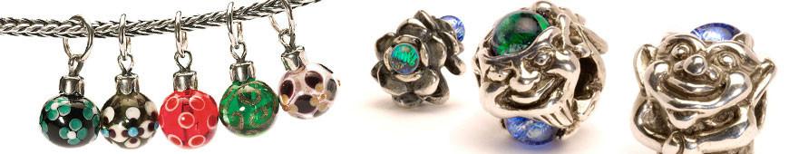 Trollbeads Beads aus Silber und Glas